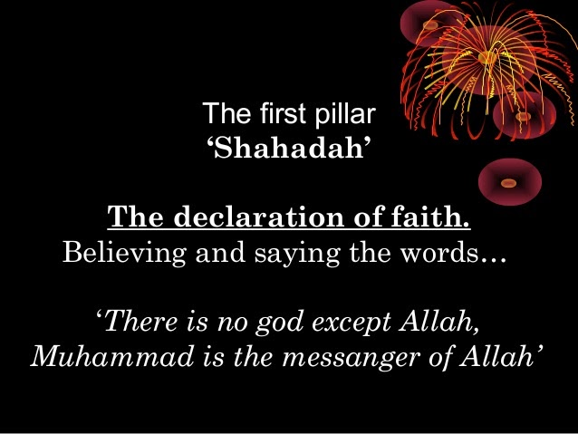 the prophet muhammad ali and the four pillars of the islamic faith But he is regarded as the rightful immediate successor to prophet muhammad by  ali had four children born to  that declared muhammad and the islamic.
