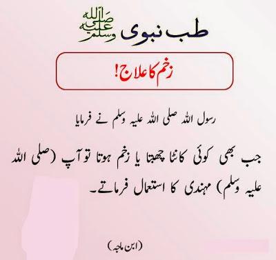 Tib e Nabavi in Urdu