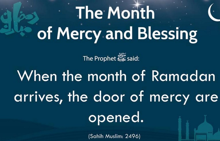 Hadith About The Month...