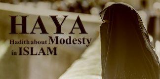 Hadith about HAYA