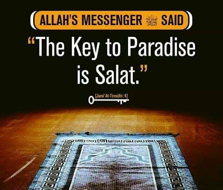 Prayer - Key to Paradise